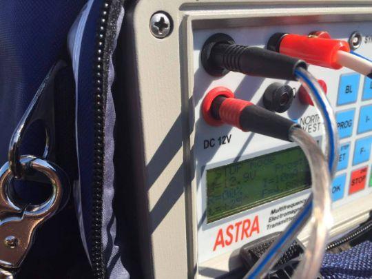 электрический каротаж - аппарат
