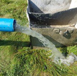 Откачка воды со скважины