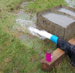 Откачка воды из скважины
