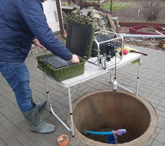 Проведение телеинспекции скважины