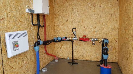 Работы по подключению скважины к дому