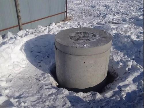 законсервированная на зиму скважина