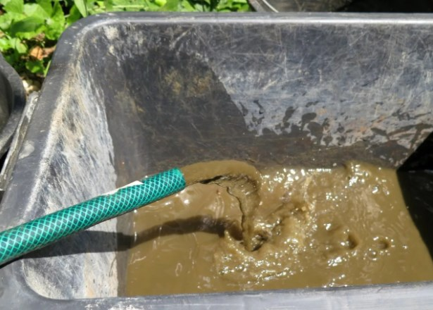 песок в воде из скважины